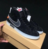 Women Nike Blazer OFF White Black