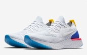 Nike Epic React Flyknit White Blue