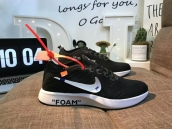 Nike off White Mariah Flyknit Racer Black White