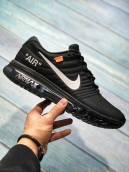 Air Max 2017 OFF White Black