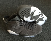 AAA Air Jordan 6 Suded Grey