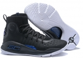 Under Armour Curry 4 Black Blue White