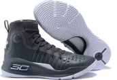 Under Armour Curry 4 Black White