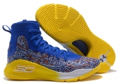 Under Armour Curry 4 Blue