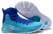 Under Armour Curry 4 Light Blue