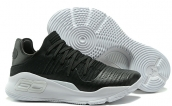 Women Under Armour Curry 4 Low Black