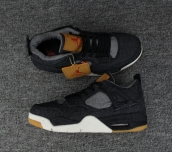 Perfect Air Jordan 4 Black