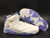Perfect Air Jordan 6 White
