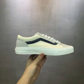 Women Vans Low Beige Grey Black