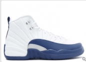 AAAA Air Jordan 12 White Blue