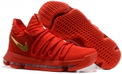 Nike KD 10 Red Gold
