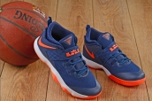 Nike Lebron  10 Low Blue Orange