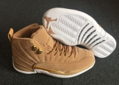 Perfect Air  Jordan 12 Wheat White