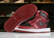 AAA Air Jordan 1 Wine Red Black