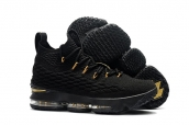 Nike Lebron 15 Black Gold