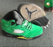 Perfect Air Jordan 5 Oregon PE Green Duck