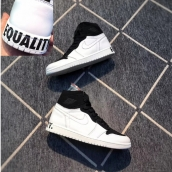 AAA Air Jordan 1 Equality Black White