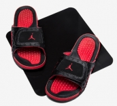 Air Jordan Hydro 13 sandals Black Red