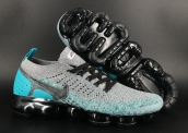 Women Air Vapormax 2018 II Flyknit Grey Blue