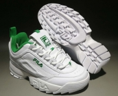 Fila White Green
