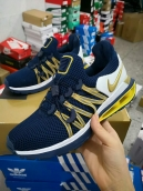 Nike Shox Gravity Luxe Navy Blue Gold