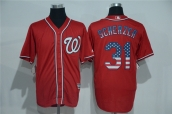 MLB Washington Nationals Jersey - 133