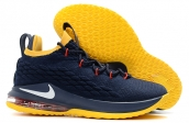 Nike Lebron 15 Low Navy Blue Yellow