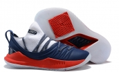 Under Armour Curry 5 White Blue Red
