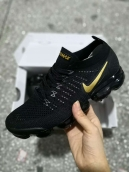 Nike Air Vapormax Flyknit II Black Gold