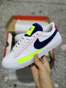 Nike Blazer Low Women White Black Pink