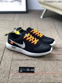 Women Nike Air Fashion Hollow OFF White Black