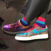 Women Air Force 1 Low Craig Sager
