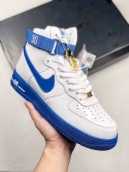 Air Force 1 High Retro Rude Awakening White Blue