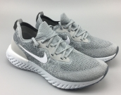 Women Nike Epic React Silvery