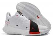 Air Jordan CP3 11 White Black Red