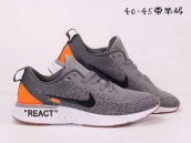 Nike Epic React II Grey Orange