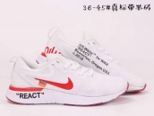 Nike Epic React II White Red