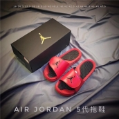 Air Jordan Hydro 5 Red Black