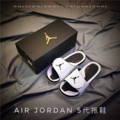 Air Jordan Hydro 5 White Black