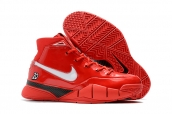 Nike Kobe 1 Protro ZK1 Red White