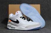 Off-White for Nike Air Jordan 3 All White