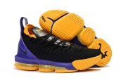 Nike Lebron James 16 Black Purple Yellow