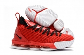 Nike Lebron James 16 Red Black