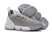 Nike Lebron James 16 Grey White