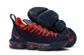 Nike Lebron James 16 Navy Blue Red
