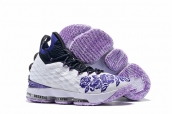Nike Lebron James 15 White Purple