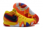 Nike Kyrie 4 Yellow Colorful