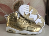 Air Jordan 6 Women Golden