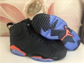 Air Jordan 6 Black Orange