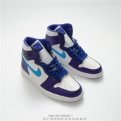 Nike Air Jordan 1 OG High Purple Blue